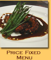 Fixed-Price Lunch Menu