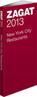 2013 Zagat Review